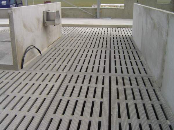 ızgara beton zeminler