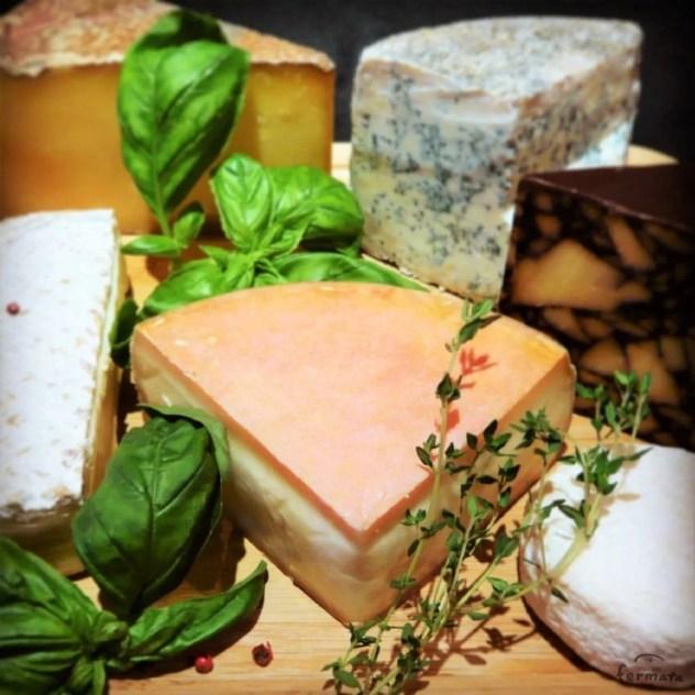 チーズとハーブ