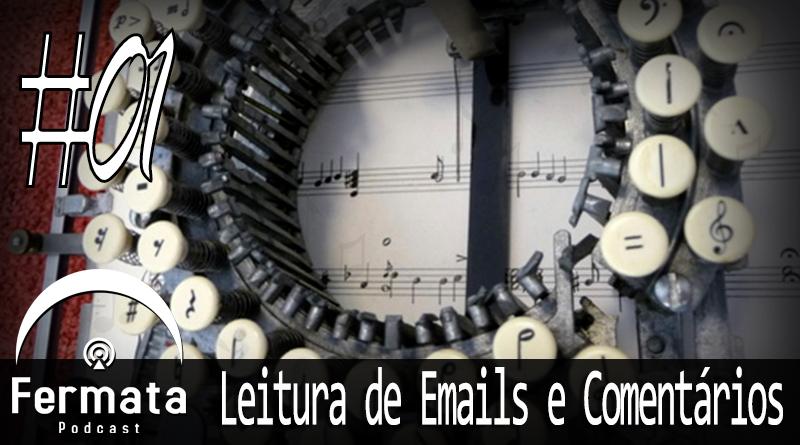 Vitrine1 - Leitura de Emails e Comentários #01