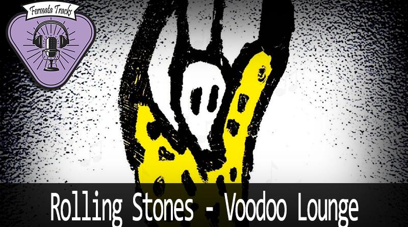 Vitrine Rolling Stones Voodoo Lounge - Fermata Tracks #105 - Rolling Stones - Voodoo Lounge