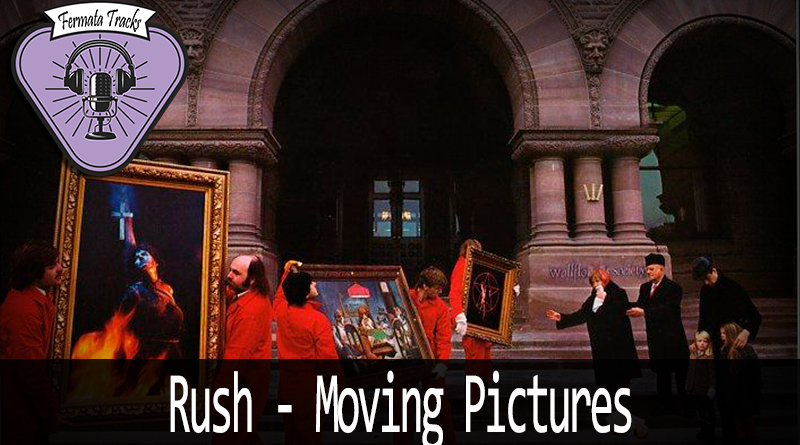 Vitrine rush - Fermata Tracks #122 - Rush - Moving Pictures