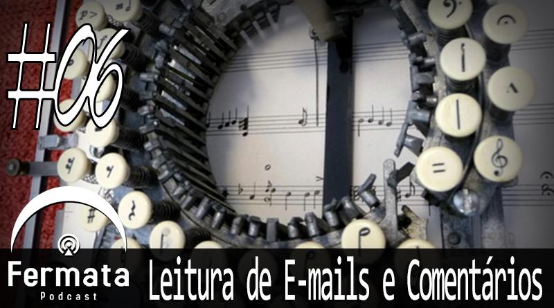 Vitrine1 - Leitura de Emails e Comentários #06