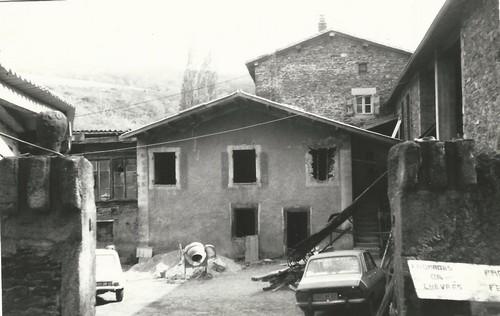 rénovation du moulin des chartreux