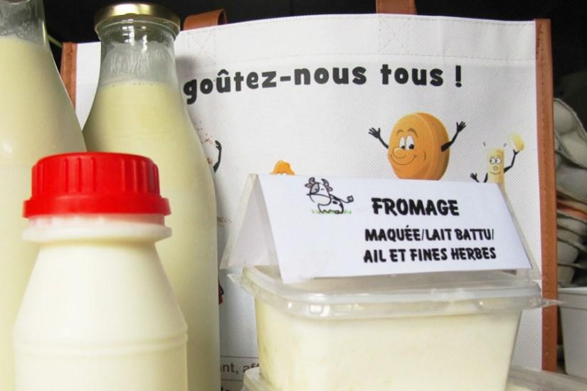 Ferme-de-vierset: Lait de ferme cru, lait battu