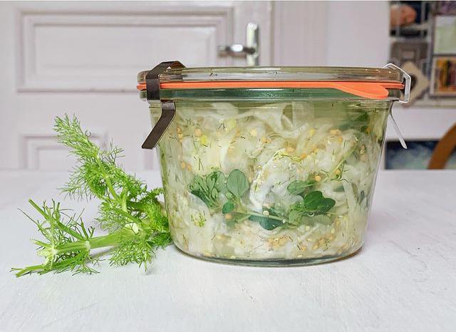 Fermentierter Fenchel mit Zitronenthymian