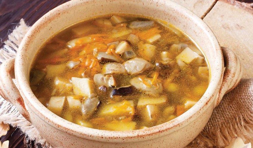 سوپ قارچ سفید