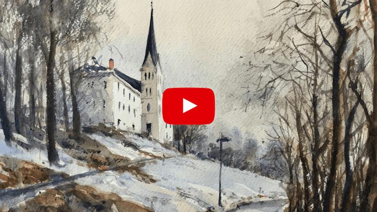 Acuarela Nieve Video Demo