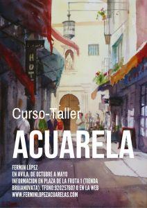 Curso Acuarela en Avila