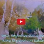 Video Demo Acuarela Paisaje de Un Soto