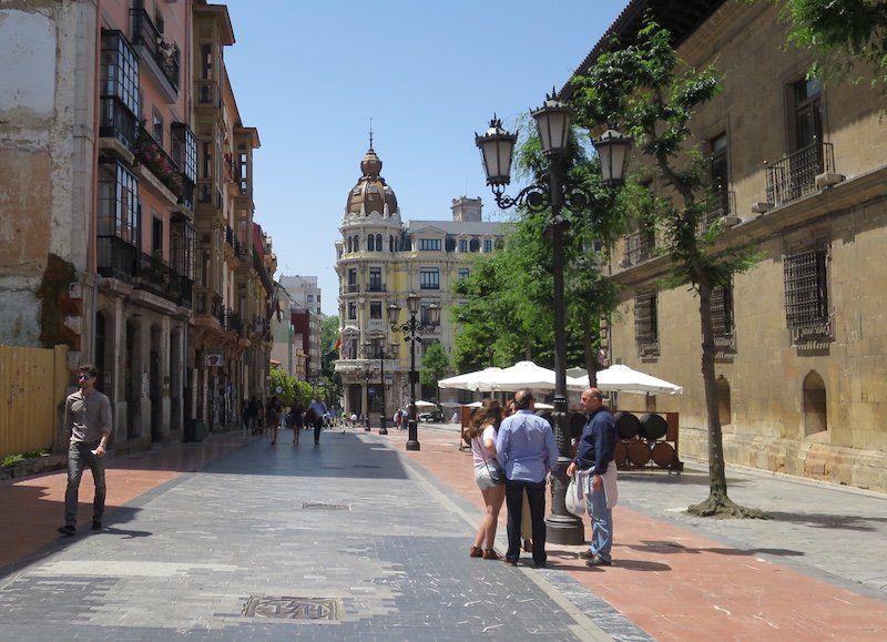 Acuarela Oviedo