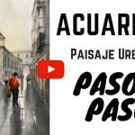 Acuarela Video Paisaje Urbano