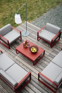 Fermob Bellevie outdoor patio set