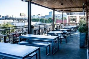 Boulevard Brewery selects Fermob Bellevie outdoor seating and tables