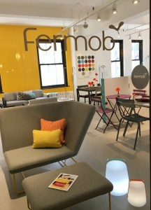 Fermob NY showroom at NYDC Suite 414