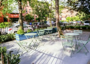 fermob seating restaurant patio bistro