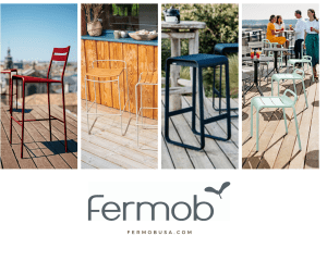 Fermob outdoor bar stools