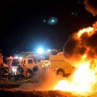 Captan en video el momento exacto de la explosión del ducto en Tlahuelilpan, Hidalgo