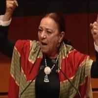 """""""¡Y no les tengo miedo cabronesss!"""": Senadora por MORENA defiende a AMLO"""
