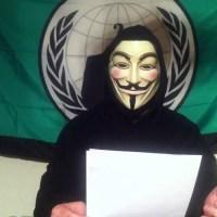 El revelador mensaje de Anonymous dirigido al Papa y a la Iglesia Católica