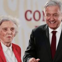 Elena Poniatowska critica la mañanera de AMLO