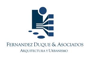 Logotipo Fernández Duque y Asociados · Estudio de Arquitectura y Urbanismo