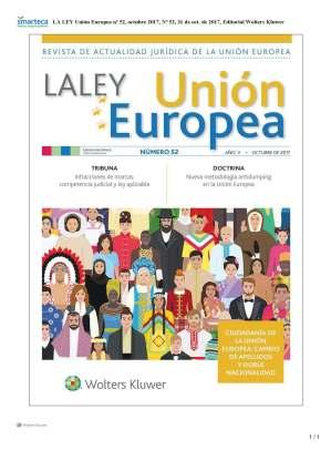 LA LEY UNIÓN EUROPEA nº 52 OCTUBRE 2017
