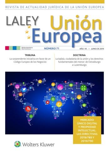 La Ley UE nº 71 junio