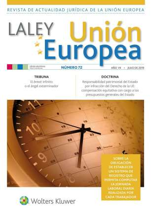 LA LEY Union Europea nº 72, julio 2019