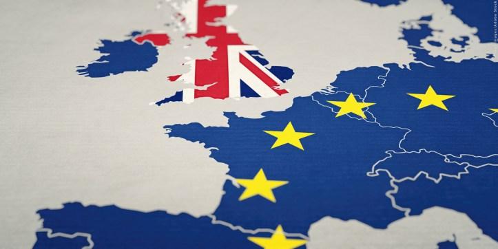 Brexit Konzept - Großbritannien  verlässt die Europäische Uni