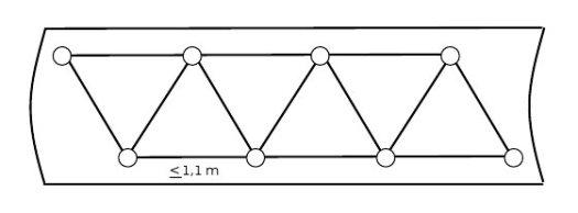 Disposición de tubos en un módulo de pantalla