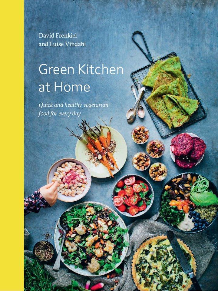 Green Kitchen at Home by David Frenkiel and Luise Vindahl