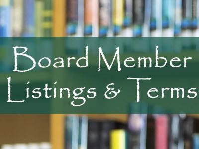 Board Member Listings & Terms
