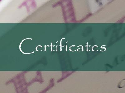 FOL Certificates
