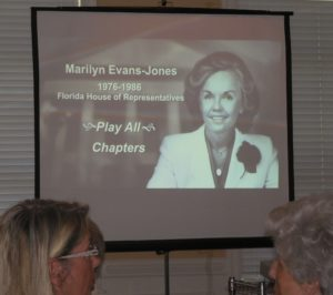 Marilyn Evans Jones interview conducted by the Florida State Archives