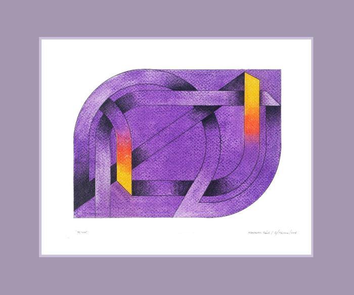 SERIE LACERIAS - MINOS 2014, pastel, papel, 40 x 30 cms.