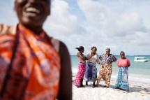 Mujeres felices de Kenia