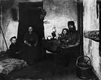 Poverty Stricken Family in New York's Lower East Side