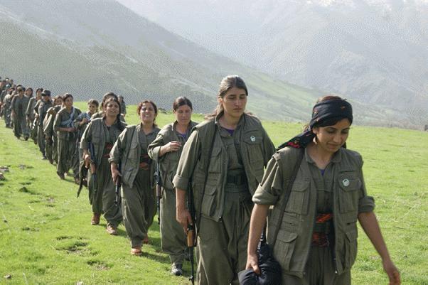 Combatientes-Kurdistan