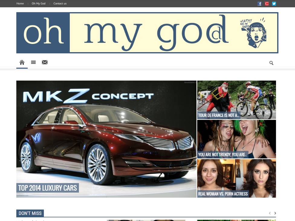 OH MY GOD
