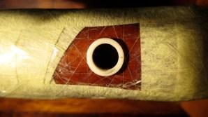 protección de la madera circundante al anillo