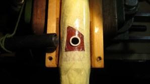 boca de aspiración del polvo de la marfilina (altamente tóxico)