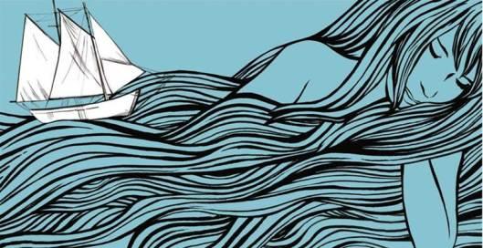 Ilustración de la alemana Silja Goetz