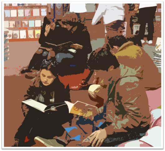 En la Feria del libro