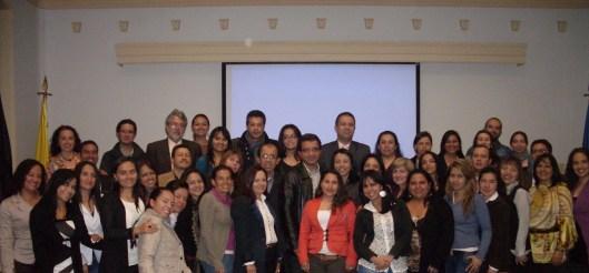 Primera cohorte, II ciclo, 2013. Maestría en Docencia, Bogotá