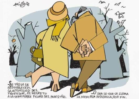 Ilustración de Antonio Mingote.