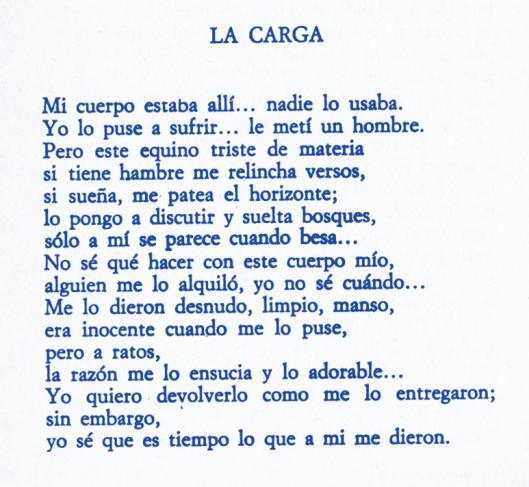La carga de Manuel del Cabral