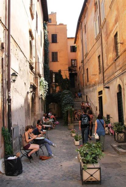 Kurztrip Rom-Günstige Restaurants-Überall findet man guten Espresso