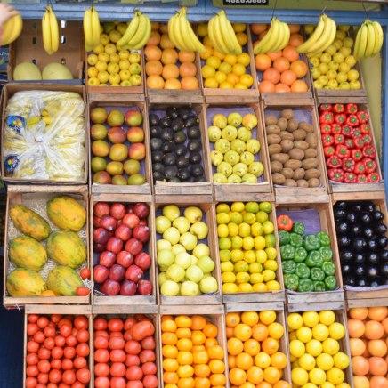 Traditionelles Essen in Buenos Aires: Die Bananen sind süßer, die Avocados reif (ohne Preiszuschlag)