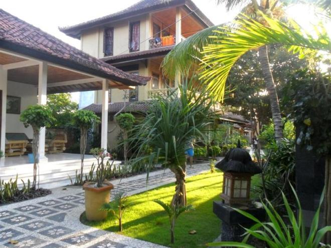Unser Hotel auf Nusa Lembongang bei Bali