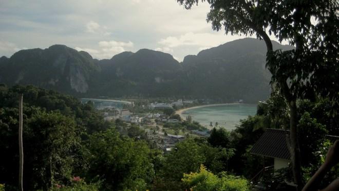 Aussicht vom Viewpoint auf Ko Phi Phi
